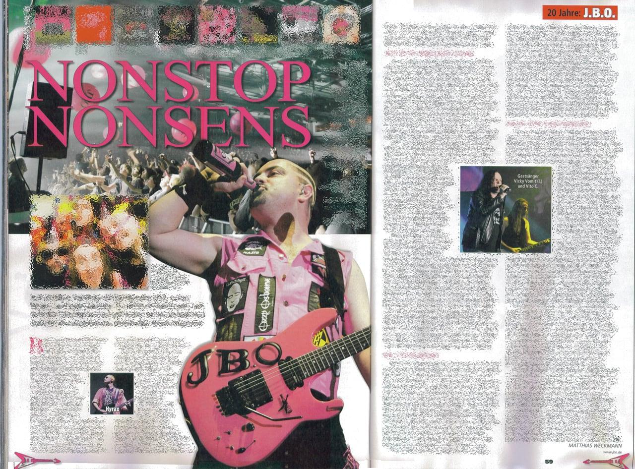 20 Jahre J.B.O. im Metal Hammer