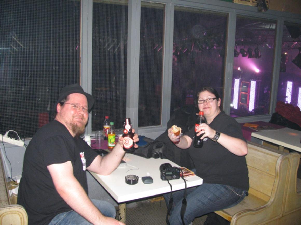 Carsten & Andrea im LKA Stuttgart - Foto: Hair VVeber