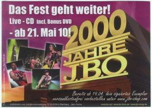 2000 Jahre JBO Flyer 01