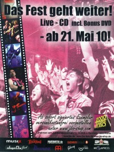 2000 Jahre J.B.O. Flyer 02