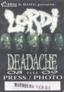 Presse Aufkleber Lordi