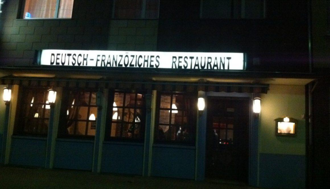 Deutsch-Franzöziches Restaurant