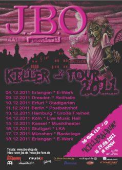 J.B.O. Killeralbum und Killer-Tour 2011