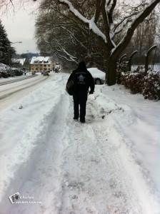 Carsten im Schnee 2010