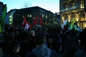 18. Anti-Atom-Montagsspaziergang am 14. März 2011 in Saarbrücken