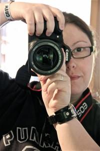 Ich mit der Canon EOS 60D / Mai 2011