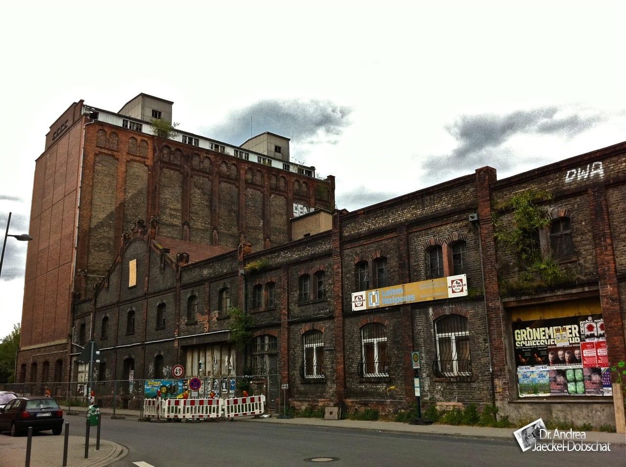 Mannheim: Altes Fabrikgebäude