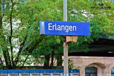 Erlangen Bahnhof August 2011