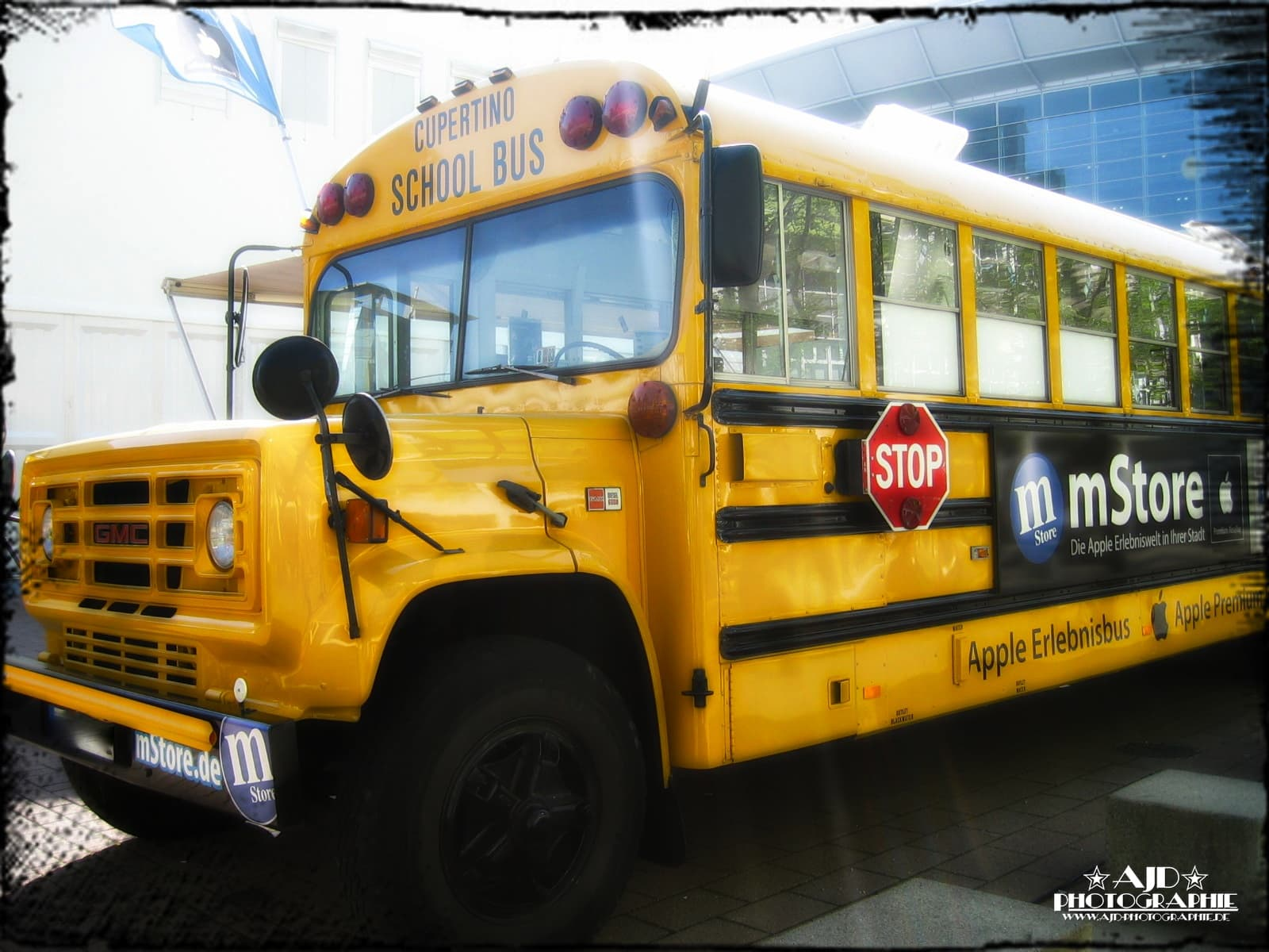 Cupertino School Bus