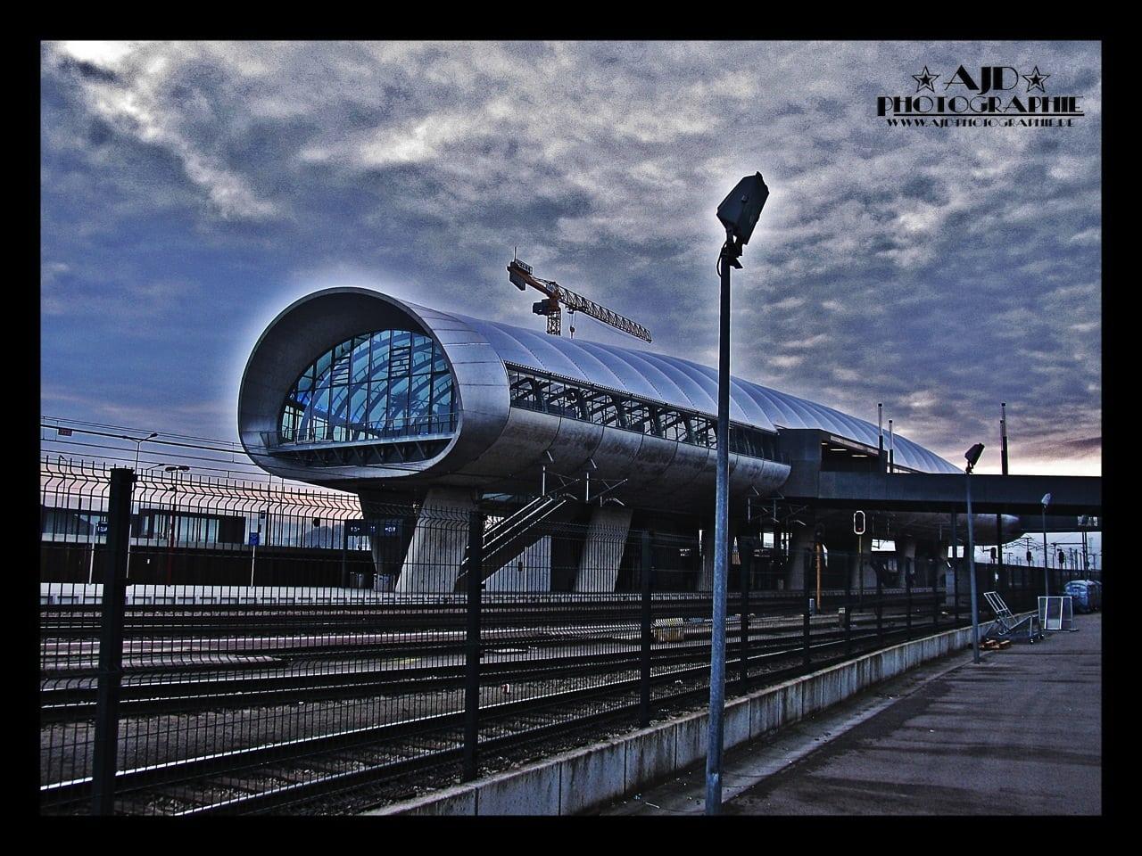 Bahnhof Belval Luxemburg