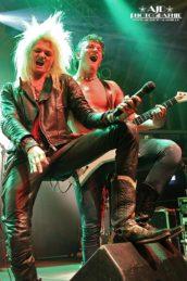 Kissin' Dynamite in der Garage Saarbrücken, 03.05.2012