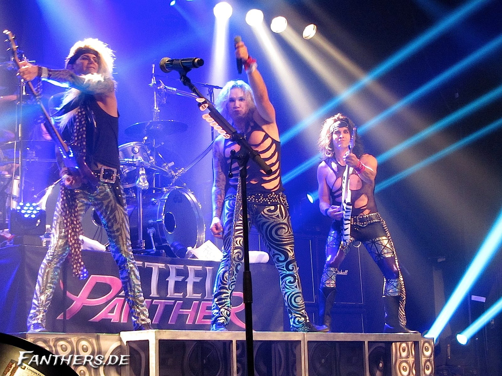 Steel Panther @ Le Bataclan Paris, 30.10.2012
