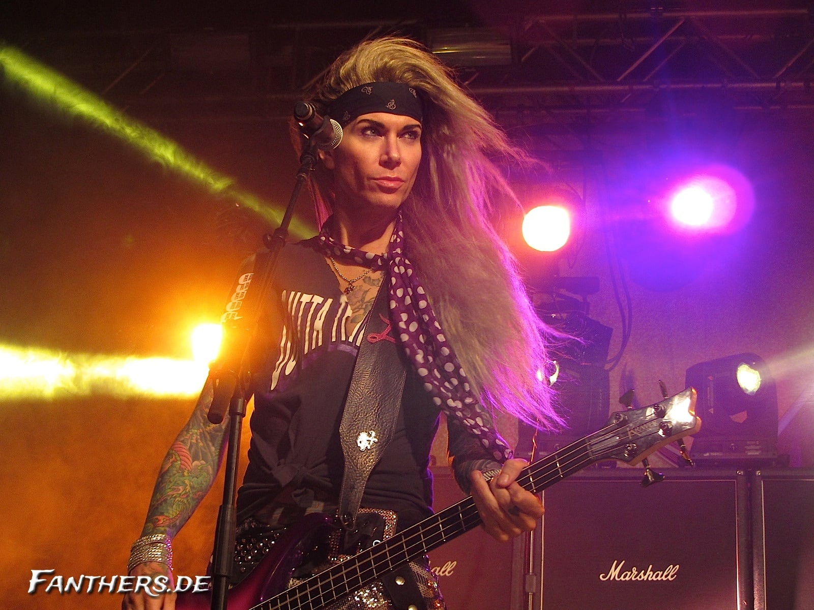 Steel Panther @ Live Music Hall Köln, 03.11.2012