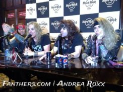 Steel Panther Pressekonferenz @ Hard Rock Cafe Paris, 30.01.2014