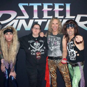 Andrea und Steel Panther Wiesbaden 26.03.2015 - by On The List Presents...