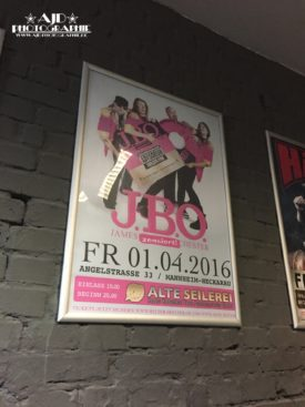 J.B.O. in der Alten Seilerei Mannheim am 01.04.2016