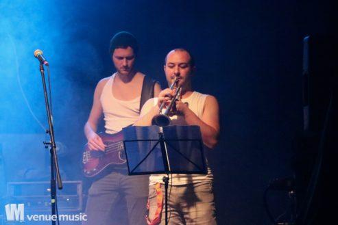 """Das Stubbi Oberwasser Trio beim Rocknachwuchsfestival """"Goldener Scheinwerfer"""" am 11.11.2017"""
