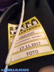 Unzucht am 17.11.2017 im Kammgarn Kaiserslautern