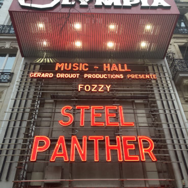 Steel Panther am 28.01.2018 im L'Olympia Paris