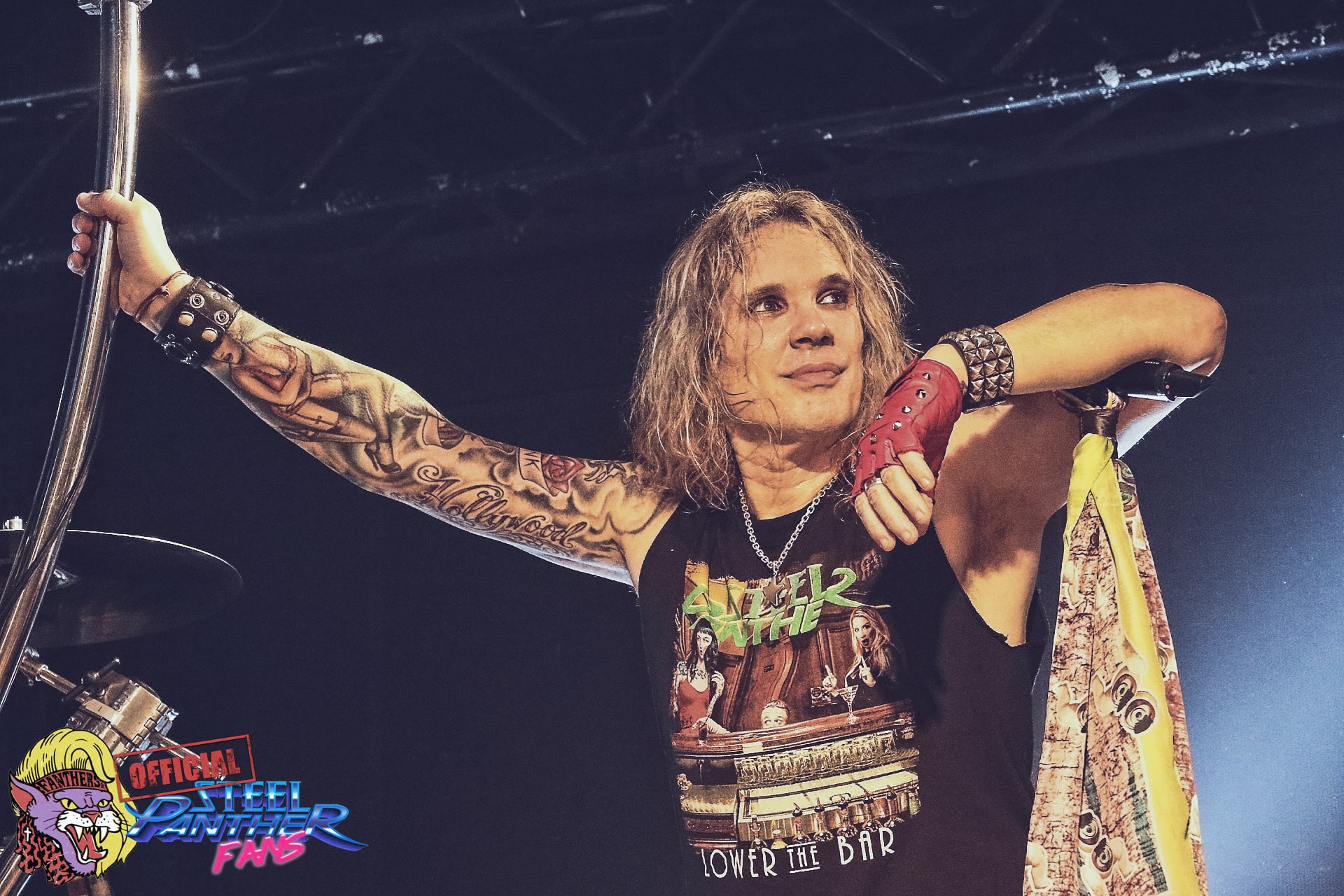 Steel Panther am 07.02.2018 im Den Atelier in Luxemburg