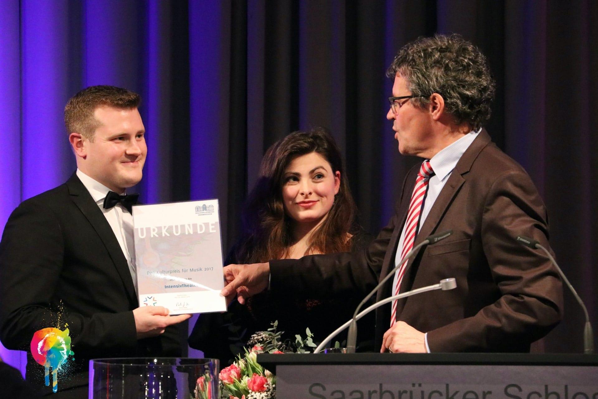 Verleihung des Kulturpreises für Musik 2017 im Saarbrücker Schloss am 24.01.2018